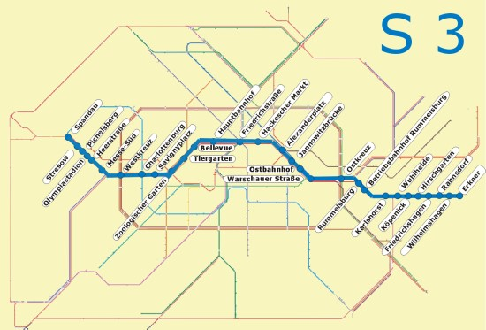 Berlin S3 öffentlicher Nahverkehr S Bahn